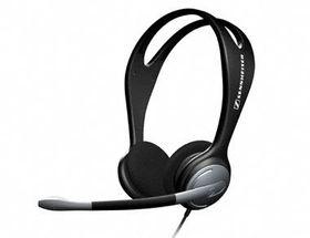 Sennheiser PC 131 Overhead Binaural Wired Headset - Black