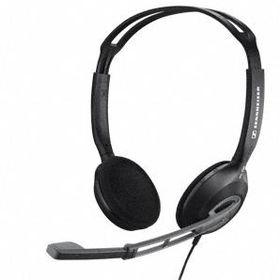 Sennheiser PC 230 Over Head Binaural Wired Headset - Black