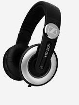 Sennheiser HD 205 DJ Pro Stereo Circum Aural  - Closed Earphones - Black