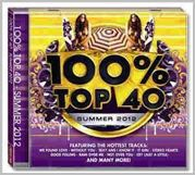 100% Top 40 Summer 2012 - Various Artists (CD)