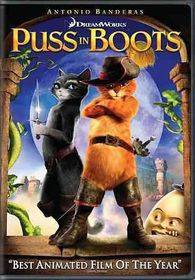 Puss in Boots - (Region 1 Import DVD)
