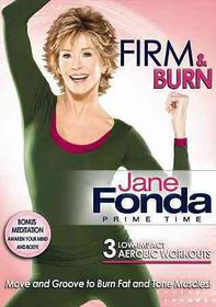 Jane Fonda Prime Time:Firm & Burn - (Region 1 Import DVD)