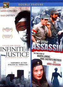 Infinite Justice/My Little Assassin - (Region 1 Import DVD)