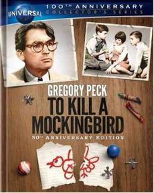 To Kill a Mockingbird 50th Ann Ed - (Region A Import Blu-ray Disc)