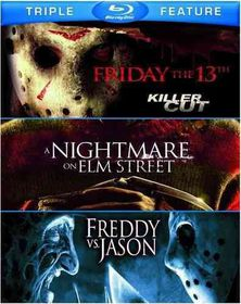 Friday the 13th/Nighmare on Elm Street/Freddy Vs. Jason (Region A Import Blu-ray Disc)