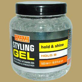Beauty Formulas Styling Gel with Vit B5 Hold & Shine  500ml