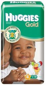 Huggies - Gold Size 4 Maxi 50