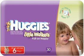 Huggies - Little Walkers Size 6 X 30