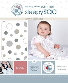 Babysense - Summer Sleepy Sac - Stone