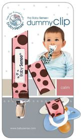 Babysense - Dummy Clip - Pink