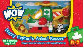 WOW - Harry Copter Animal Rescue
