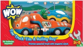 WOW - Tow Truck Tim & rolling Ray