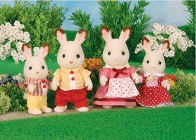 Sylvanian Family - Chocolate Rabbit Family