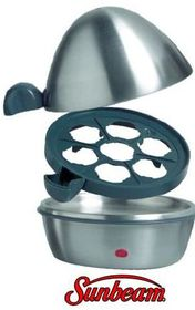 Sunbeam - Designer Egg Boiler - Stainless Steel