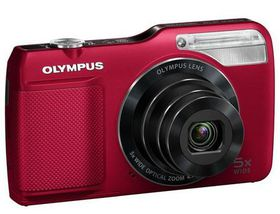 Olympus VG-170 Compact Digital Camera - Red