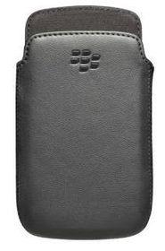 BlackBerry 9380 - Premium Leather Pocket -  Black