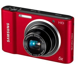 Samsung ST66 Digital Camera Bundle Red