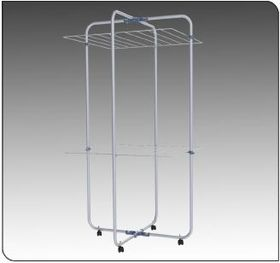 Hills - Indoor Finesse Duo - Mobile Washing Airer - 2 Tier