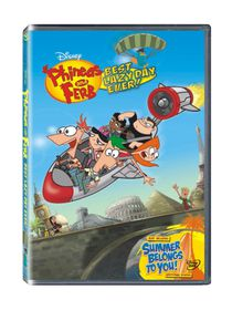 Phineas and Ferb: Best Lazy Day Ever (DVD)