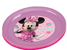 Minnie Mouse 4 Piece Plate Set