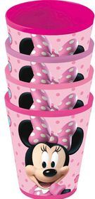 Minnie Mouse 4 Piece Tumbler Set