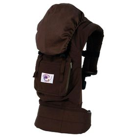 Ergo Baby - Baby Carrier Organic Dark Chocolate