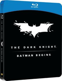 Batman Begins/Dark Knight Steelbook (Blu-ray)