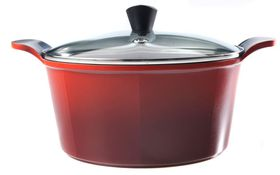 Neoflam - 24cm Casserole - High Red