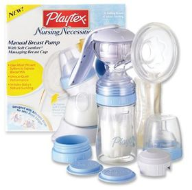 Playtex - Manual Breast Pump Starter Kit
