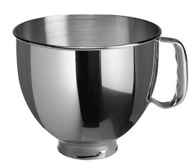 KitchenAid - Stainless Steel Mixer Bowl with Handle 4.83 L