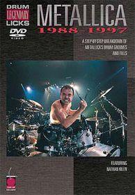 Metallica-Drum Licks 88-97 - (Import DVD)