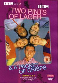 Two Pints of Lager Ser.3 & 4 (4 Discs) - (Import DVD)