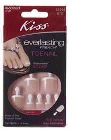 Kiss - Everlasting Toenail Limitless Pink