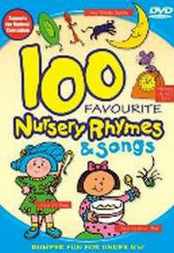 100 Favourite Nursery Rhymes & Songs - (DVD)
