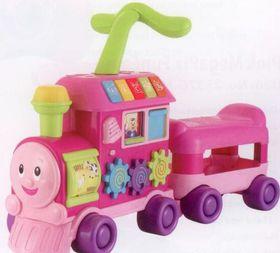 Winfun - Walker Ride-on Learning Train - Pink
