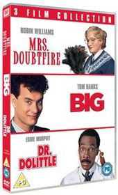 Big/Mrs Doubtfire/Dr Dolittle (Import DVD)
