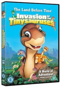 The Land Before Time 11 - Invasion of the Tiny Sauruses (Import DVD)