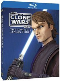 Star Wars: The Clone Wars Season 3 Complete (Import Blu-ray)