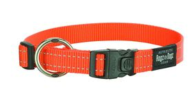 Rogz - Utility Extra-Large Lumberjack Dog Collar - Orange