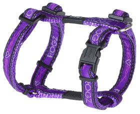 Rogz Fancy Dress Small Jellybean Dog H-Harness - Purple