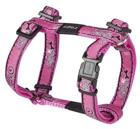 Rogz Fancy Dress Small Jellybean Dog H-Harness - Pink