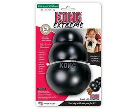 Kong Dog Toy Extreme - Small (Dog Weight 1-10kg) Black