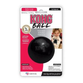 Kong Dog Toy Extreme Ball - Small (Dog Weight 1-10kg) Black