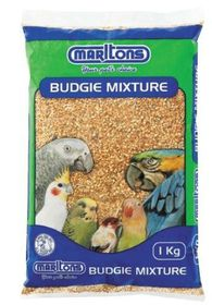 Marltons - Budgie Seed - 1kg