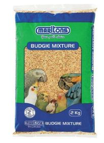 Marltons - Budgie Seed - 2kg