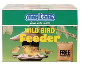 Marltons - Wild Bird Feeder In Box & Free Seed