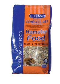 Marltons Hamster Food With Fruit And Veg 800g