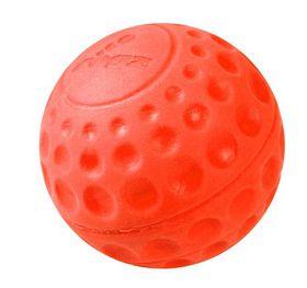 Rogz - Dog Asteroidz Ball - Medium 6.4cm - Orange