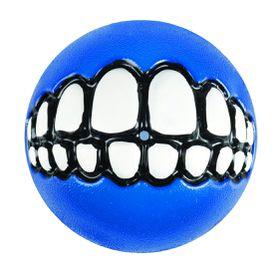 Rogz - Dog Ballz Grinz Treat Dispenser - 6.4cm - Blue