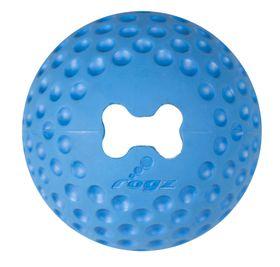 Rogz - Dog Gumz Treat Ball - Medium 6.4cm - Blue